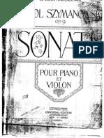 Szymanowski - Violin Sonata