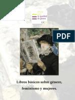 Lista - Libros básicos sobre género, feminismo y mujeres