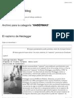 Habermas | Academia - Weblog