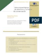 2006 Porto Conservacion Materiales Arqueologicos