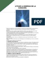 COMO ACTIVAR LA ENERGIA DE LA CURACIÓN
