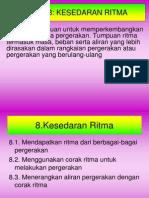 Tema 8. Kesedaran Ritma