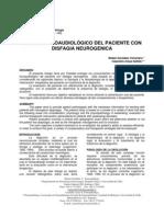 Gonzalez Manejo Fonoaudiologico Del Paciente Con Disfagia Neurogenica