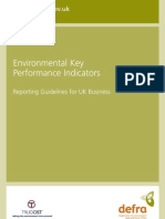 Environmental Key Performance Indicators - Reporting Guidelines for UK Business - DeFRA - 2006
