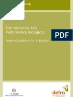 Environmental Key Performance Indicators - Reporting Guidelines for UK Business - DeFRA - 2006