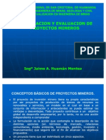 81504158 1 Formulacion y Evaluacion de Proyectos Mineros