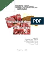 Sangre, Subproductos y Cortes de Carnes Bovinas