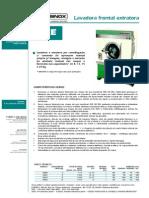 BRASINOX - Lavadora Extratora Frontal