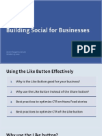 40100720 Building Social for Businesses Using the Like Button Effectively