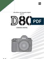 Manual De Usuario Nikon d80 Español