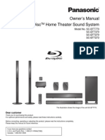 Panasonic Home Theater Sound SCBTT570