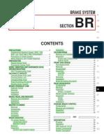2000 Nissan Xterra Brakes - Service Manual