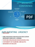 17th Midwives Conference 2