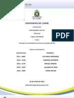 Trabajo Grupo 3 Los Principios de Contabilidad Generalmente Aceptados PCGA