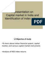 Capital Market in India and Identification of Index Ppt