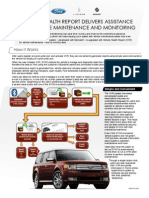 Vehicle Health Report Delivers Assistance with Vehicle Maintenance and Monitoring