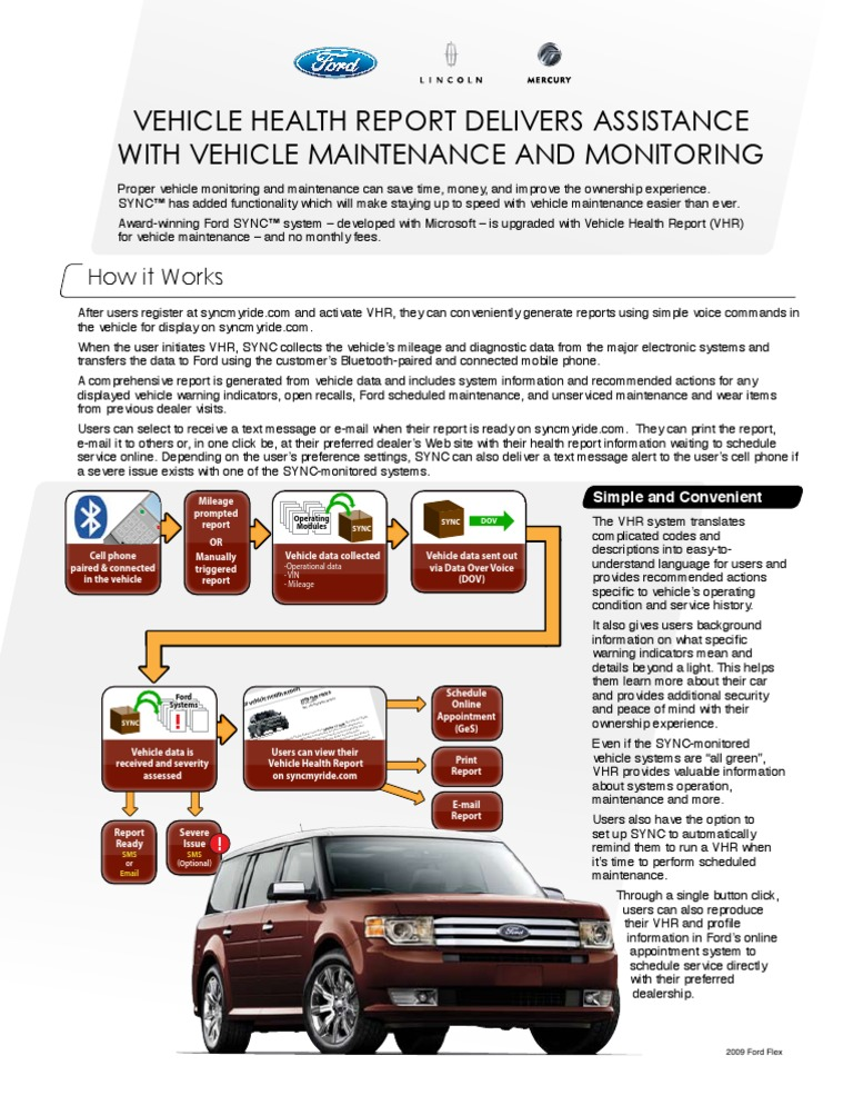 vehicle health report delivers assistance with vehicle maintenance
