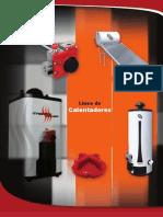 Const. Catalogo Calentadores IUSA