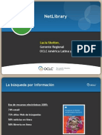 NetLibrary by OCLC Presentación 08May2009 por Lucía Shelton