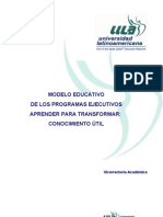 Modelo Educativo Ula 2010