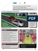 Blind Spot Information System (BLIS®) with Cross Traffic Alert