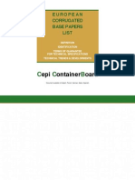 Admin Docs Cepi ContainerBoard List English