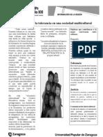 Ficha INfORMACION Taller VALORES en Sociedad Multicultural