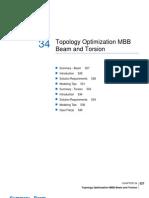 Topology Optimization MBB Beam and Torsion