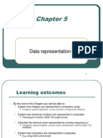 Chapter 5 Data Representation