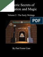 eBook (Occult) - Esoteric Secrets of Meditation & Magic - Paul Foster Case