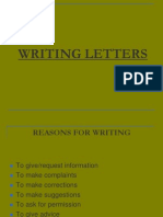 22127733 Writing Letters