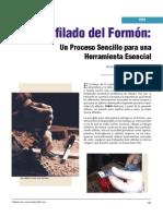Tips Afilado Del Formon