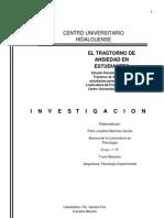 Investigacion Ansiedad