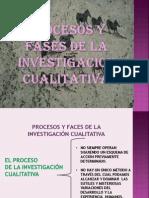 Procesos y Fases de La Investigacion Cualitativa