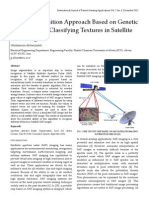 A New Recognition Approach Based on Genetic Algorithm for Classifying Textures in Satellite SAR Images