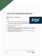Soalan Bahasa Melayu Pemahaman-Phg