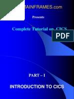 CICS Complete
