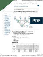 Wireless PT Practice SBA « Istiaque Orbit