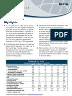 Country Economic Forecasts - India