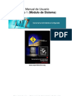 Manual Módulo de Sistema