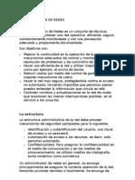 ADMINISTRADOR DE REDES