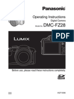 Panasonic camera DMC FZ28 Manual