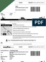 Easy Bus Ticket
