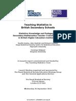 Ts Pedagogy Full Report