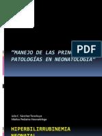 45. Principales Patologias Neonatales