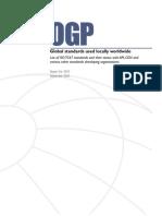 Global Standards 4210