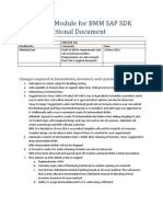 Functional Document for Production Module