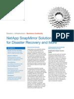 NetApp SnapMirror