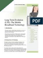 Paper 1 _ Long Term Evolution