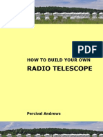 How to Build Your Own Radio Telescope Sample